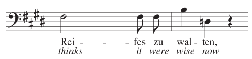 musical example